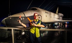 Astronomy on Deck returns to the Intrepid Museum on April 24 for Hubble's 25th Launch Anniversary!