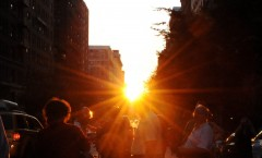 Hipster Manhattanhenge on May 29 in NYC!