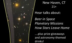 Dec. 1, 2014: Astronomy on Tap, New Haven, CT