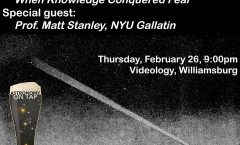 COSMOS Episode 3 at Videology in Williamsburg, Thursday, February 26 at 9 pm