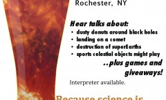 Astronomy on Tap in Rochester, NY on Friday, May 15 at 8 p.m.