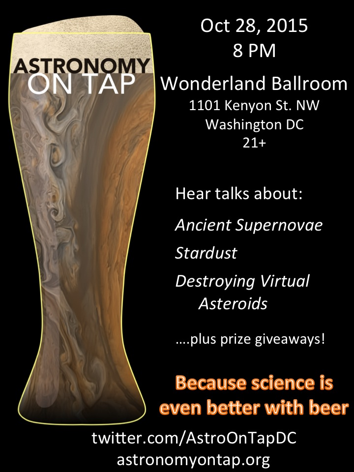 Astronomy on Tap DC - Oct. 28th