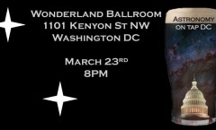 Astronomy on Tap DC - March 23