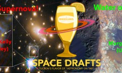 Space Drafts 23: Deja Vu Supernovae and Martian Melts at AoT-Tucson, April 13th at the Borderlands Brewing Co.