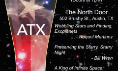 Astronomy on Tap ATX #19: May 17 at The North Door