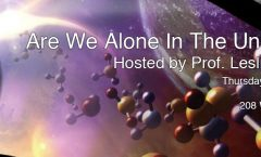 Are We Alone in the Universe? July 21 With Prof. Leslie Looney at Astronomy on Tap C-U