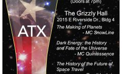 Astronomy on Tap ATX #20: June 21 at The Grizzly Hall