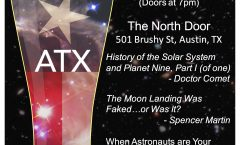 Astronomy on Tap ATX#21: July 19 @The North Door