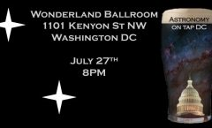 Astronomy on Tap DC - July 27th
