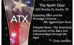 Astronomy on Tap ATX #22: August 16 @The North Door