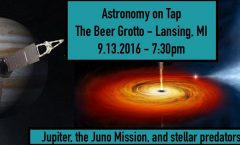 Astronomy on Tap Lansing: September 13th, 2016