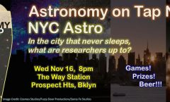 AoT NYC on Wednesday, November 16 at the Way Station
