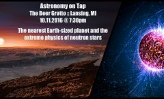 Astronomy on Tap Lansing: October 13, 2016