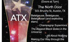 Astronomy on Tap ATX #26: Dec 20 @The North Door