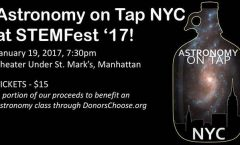 Astronomy on Tap, New York City, 19 Jan 2017