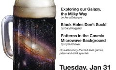 Astronomy on Tap - Montreal, January 31, 2017