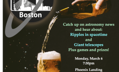 Astronomy on Tap Boston – March 6, 2017