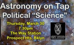 Astronomy on Tap, NYC – 30 March 2017 @ The Way Station