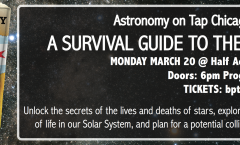 Astronomy on Tap Chicago - March 20 @ Half Acre Beer Company