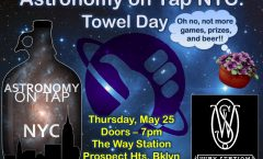 AoTNYC: Towel Day - May 25th, 2017