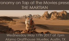 Astronomy on Tap ATX presents THE MARTIAN: Wed May 17th 2017 at 7pm