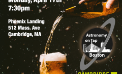 Astronomy on Tap Boston – April 17, 2017