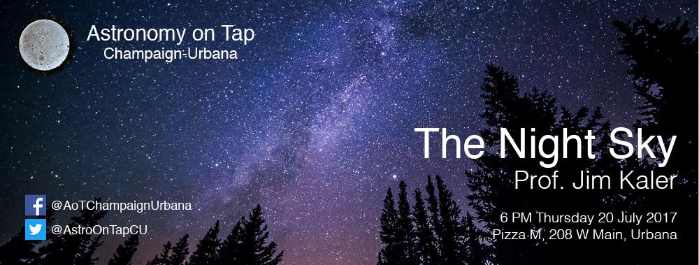 AoT-CU July 2017: The Night Sky