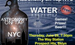 AoTNYC Presents: Water! Thursday, June 29 at the Way Station in Brooklyn