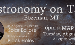 Astronomy on Tap Bozeman: August 1, 2017