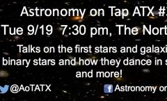 Astronomy on Tap ATX #36: September 19, 2017