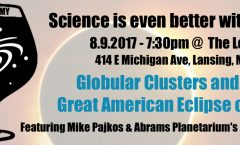 Astronomy on Tap - Lansing - August 2017