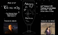 Astronomy on Tap Aarhus: October 10, 2017