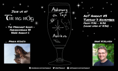 Astronomy on Tap Aarhus: Tuesday November 7, 2017