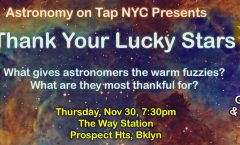 AoT NYC: Thank Your Lucky Stars - Nov 30