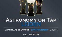 AoT Leiden, Monday 27th November @ Grand Café de Burcht