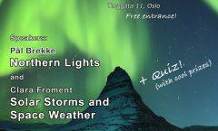 Astronomy on Tap Oslo: Monday December 11, 2017 at Uhørt