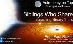 AoT-CU: Interacting Binary Stars with Paul Ricker - December 21, 2017