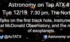 Astronomy on Tap ATX #39: December 19, 2017
