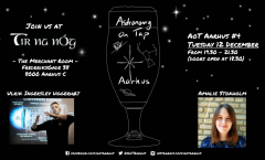Astronomy on Tap Aarhus: Tuesday December 12, 2017
