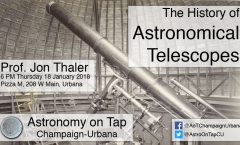 AoT-CU: The History of Astronomical Telescopes with Jon Thaler - January 18, 2018