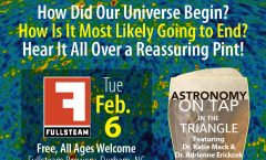 Astronomy on Tap Triangle #5: Tue. Feb. 6, 2017