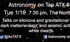 Astronomy on Tap ATX #40: January 23, 2017