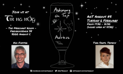 Astronomy on Tap Aarhus: Tuesday February 6, 2017