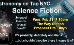 AoTNYC - Feb 21, 2018: SciFi Night!