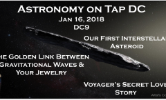 Astronomy on Tap DC: Jan 16, 2018
