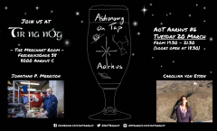Astronomy on Tap Aarhus: Tuesday March 20, 2017