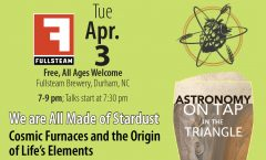 Astronomy on Tap Triangle #7: Tuesday, April 3, 2018