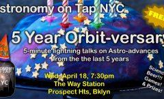 AoTNYC - 5-year Orbit-versary!!!
