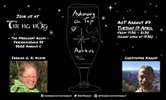 Astronomy on Tap Aarhus: Tuesday April 17, 2017