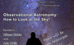 Astronomy on Tap Oslo: Monday March 12, 2018 at Uhørt